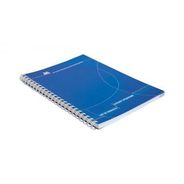 Каталоги, брошюры на пружине